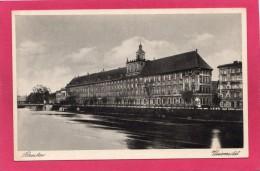 POLOGNE   BRESLAU (Wrocław), Universitat, L'Odra - Pologne