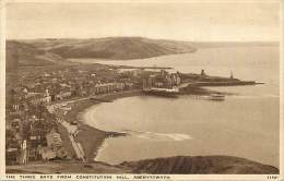 - Royaume Uni  - Ref - A 726 -  Aberystwyth - The Three Bays From Constitution Hill - - Royaume-Uni