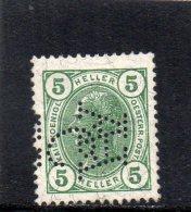 AUTRICHE 1904 * PERFIN