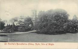 - Royaume Uni - Ref - A724 - Ile De Wight - Isle Of Wight - St Cecila S Benedictine Abbaye - - Angleterre
