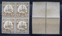 Dt.Reich Kolonien Karolinen 1900 ** Viererblock Postfrisch    (A139) - Kolonie: Karolinen
