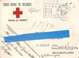 Guerre 1940 - 1945 - Correspondance Prisonnier De Guerre - 1939-45