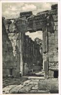 16804. Postal BAALBEK (Liban) Libano. Porche Et Temple De Bacchus - Líbano