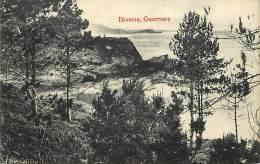 - Royaume Uni  - Ref - A 723 -  Guernesey - Guernsey -  Divette - Channel Islands - Carte Bon Etat - - Royaume-Uni