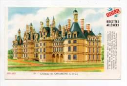Buvard - Biscottes Grégoire - Château De Chambord - Biscottes