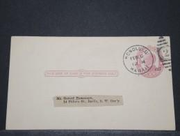 HAWAI - Entier D'Honolulu Pour Berlin - Fev 1912 - A Voir - P 16644 - Hawaï
