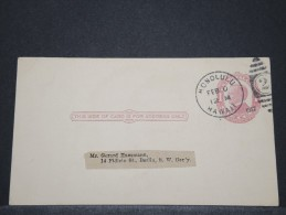 HAWAI - Entier D'Honolulu Pour Berlin - Fev 1912 - A Voir - P 16644 - Hawaii