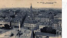 NANTES - PANORAMA VERS L'EST PRIS DE LA CATHÉDRALE - Nantes