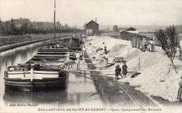 PRESLES ET BOVES 02 -Ballasti�re St Audebert - Quai de chargement