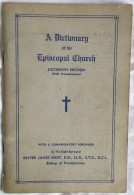 A DICTIONARY OF THE EPISCOPAL CHURCH  1960 . OLIVER JAMES HART - Livres, BD, Revues