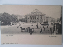 KOBENHAVN  . KGL  THEATER DOS 1900 - Danemark
