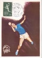 FRANCE HANDBALL  POST CARD  MAXIMUN    1970 PARIS (F160218) - Pallamano