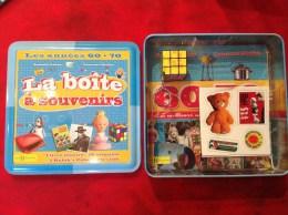 Boite à Souvenirs Année 60/70 Zorro Manège Enchanté Rubik's Cube Goldorak Saturnin...etc - Souvenirs