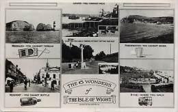- Royaume Uni  - Ref - A 714 - Ile De Wight -  Isle Of Whight - Carte Multi Vues - Multi Views - Carte Bon Etat - - Autres