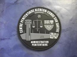 Ecusson Patch Administration Pénitentiaire Centre Pénitentiaire Alençon BV PVC - Ecussons Tissu