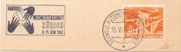ZURICH 1952  HANDBALL   SPECIAL ANULLED (F160236) - Pallamano