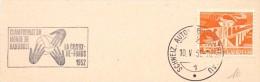 SCHWEIZ LA CHAUX DE-FONDS 1952  HANDBALL   SPECIAL ANULLED (F160237) - Pallamano