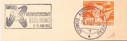 BIEL BIENNE  1952  HANDBALL   SPECIAL ANULLED (F160238) - Pallamano