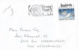 Jersey 1999 Herring Gull Larus Argentatus Cover - Möwen