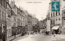 LAON  -  La Rue du Bourg