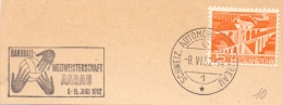 AARAU  1952  HANDBALL   SPECIAL ANULLED (F160241) - Pallamano