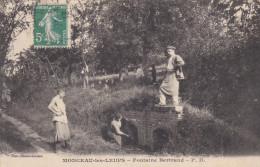 Monceau les Leups.Fontaine Bertrand.