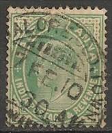 Timbres - Grande-Bretagne (ex-colonies Et Protectorats) - Inde - 1902-1909 - 1/2 A.  - - Indien (...-1947)