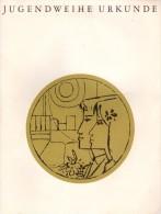 Vieux Papiers - Carnet & Livret - Certificat Jugendweihe- Jugendweihe Urkunde - Gunter Krehahn - Naumburg/s 1970 - Altri