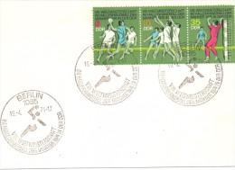 BERLIN  DDR  CARD     HANDBALL 1974 SPECIAL ANULLED (F160235) - Pallamano
