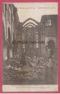 62 - LAVENTIE--Interieur De L´Eglise En Ruines En Fevrier 1916--WW1 - Laventie