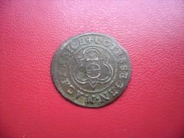 JETON De COMPTE De NUREMBERG 16 ° Siècle Au Globe Crucifère Et à La Rose Gravé Par Hans Krauwinckel II (1586 - 1635) - Royal/Of Nobility