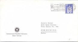 BASEL SCHWEIZ HELVETIA  FEDERATION     HANDBALL 1988  (F160242) - Pallamano