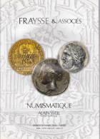 Monnaies, Médailles, Billets, 4 Catalogues De Vente Fraysse &  Associés 2004/2005 - Libros & Software