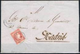 1859.- RAMALES (SANTANDER) A MADRID - 1868-70 Gobierno Provisional