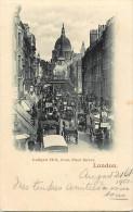 - Royaume Uni  - Ref - A 705 -  Londres - London - Ludgate Hill From Fleet Street - Carte Bon Etat - - Royaume-Uni