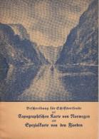 Guide Norvégien - Elbe - 1934 - 16 Pages - Partition De Musque Et Textes - Tableaux ... - Norvège