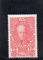 AUTRICHE 1910 *