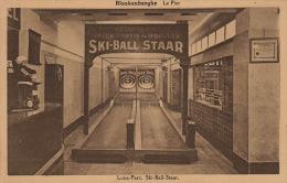 Blankenberghe Le Pier Luna Parc Ski Ball Staar - Blankenberge