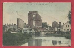 Quièvrain - Vue Du Vieux Moulin - Jolie Carte Couleur -1908 ( Voir Verso ) - Quiévrain