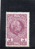 AUTRICHE 1910 **