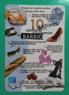 2011. COMPRA EN LOS COMERCIOS DEL BARRIO. - Calendarios