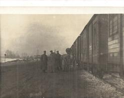 Miltairen Bevoorraden De Trein - Weltkrieg 1914-18