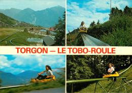 Switzerland - Suisse - Valais - Torgon - Le Tobo-Roule - Multivues - Semi Moderne Grand Format - Bon état - VS Valais