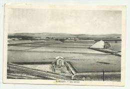 GIBUTI DJIBOUTI LES  SALINES VIAGGIATA 1936 FP - Gibuti