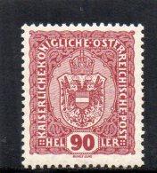 AUTRICHE 1916-8 **
