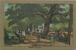 - Royaume Uni  - Ref - A691 -  Londres - London - Hyde Park -  Carte Illustree - Illustrateur J R Way - Carte Bon Etat - - London