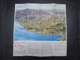 DéPLIANTS TOURISTIQUES (M1505) ALLEMAGNE (2 Vues) Bluten Wasser Wanderland OBERTHURGAU - Dépliants Touristiques