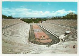 ATENE LO STADIO  VIAGGIATA FG - Grecia