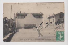 64 SAINT-JEAN-DE-LUZ - Partie De Pelote Basque à La Chistera - Saint Jean De Luz