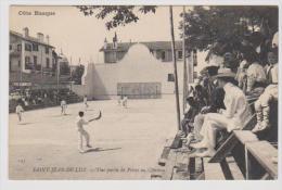 64 SAINT-JEAN-DE-LUZ - Partie De Pelote Au Chistera - Saint Jean De Luz
